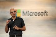 Microsoft CEO Satya Nadella speaks during a Microsoft cloud briefing event in San Francisco, California October 20, 2014.