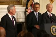 Obama Announces Resignation Of Chuck Hagel As Defense Secretary