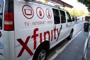 Comcast Xfinity Cable Van
