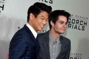 Ki Hong Lee and Dylan O'Brien