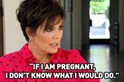 Kris Jenner Pregnant