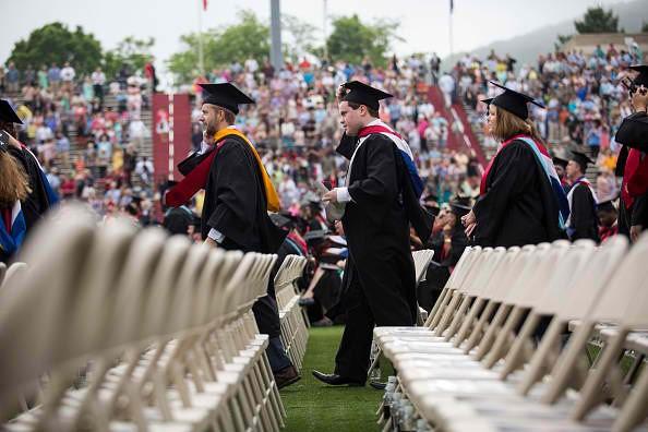Jeb Bush Gives Commencement Address At Liberty University