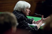 Federal Reserve Chair Janet Yellen Semiannual Monetary Policy Report To The Senate Banking Committee