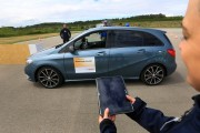 Driverless Technology Showcased At Robert Bosch GmbH Automated Driving Event