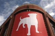 The corporate logo of Zynga Inc, the social network game development company, is shown at its headquarters in San Francisco, California April 26, 2012. Credit: Reuters/Robert Galbraith
