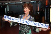 New Campaign #RewritingTheCode At The International Women's Day Breakfast at Facebook HQ in London