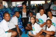 Ciara And Teens Provide School Supplies to Low-Income Youth