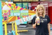 Ashley Benson Kicks-off 7-Eleven's Summer Slurpee Days