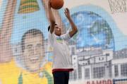 Kid Playing Basketball At Cafu Academy