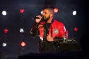 Rapper Drake at NBA All-Star Game 2016