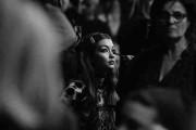 Gigi Hadid at the Versace Backstage Alternative Views - Milan Fashion Week Fall/Winter 2016/17