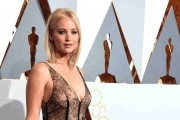 Jennifer Lawrence At 88th Annual Academy Awards - Arrivals
