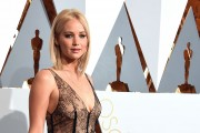 Jennifer Lawrence at the 88th Annual Academy Awards