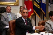 President Obama Meets With Small Business Owners