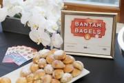 Bantam Bagels on display
