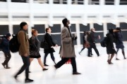 New WTC State-Of-The-Art Transportation Hub 'Oculus' Opens To The Public