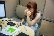 Last Minute Tax Filers Rush To Beat Deadline