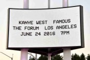 Kanye West Video Premiere For 'Famous'