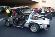 Delorean Automobile Back To The Future.