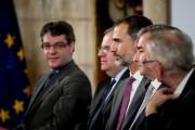 King Felipe of Spain Visits Burgos
