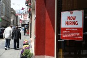 Hiring falls for third straight month;7.8 million unemployed workers are reported