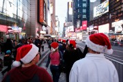 Last Minute Shoppers Hit NYC Stores On December 24th