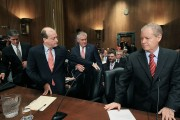 Oil Companies' CEO's Testify At Senate Finance Hearing On Rising Energy Prices