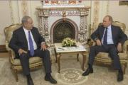 Israel Prime Minister Benjamin Netanyahu and Russian President Vladimir Putin