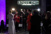 Red Carpet Arrivals Of Lucasfilm's 'Rogue One: A Star Wars Story'