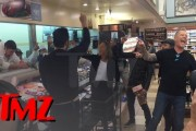 TMZ Footage of Metallica At Deli Counter