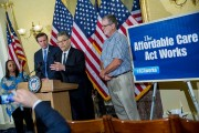 Senators Franken And Murphy Discuss The Affordable Health Care Act Case Being Heard At Supreme Court
