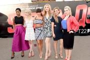 Comic-Con International 2015 - 'Scream Queens' Talent Visit The Scream Queens Mega Drop Ride At Petco Park During SDCC