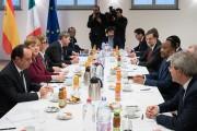 European Leaders in Talks