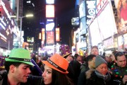 New Years Eve Celebrated In New York's Times Square