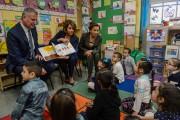 Mayor Bill de Blasio and Nancy Pelosi Promote Pre-K For All