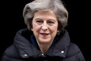 Theresa May Leaves For The First PMQ's Of 2017