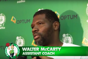 Walter McCarty Availability