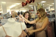 Four Teens From Children's Hospital Los Angeles Get Retail Therapy During A Holiday Shopping Spree With Lauren Conrad At Kohl's Department Store