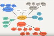 An example of a mind map
