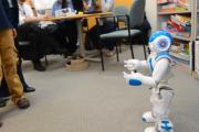 Robot teaching communication
