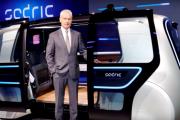 VW Group Sedric Concept Self Driving Pod