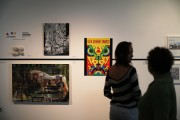 Global art sales fall.