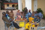 Ann-Perry Witmer Meets with Village Elders in Adu Achi, Nigeria (IMAGE)